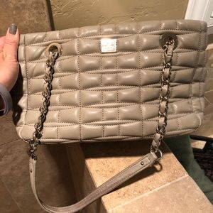 Kate Spade Quilted Tan Purse